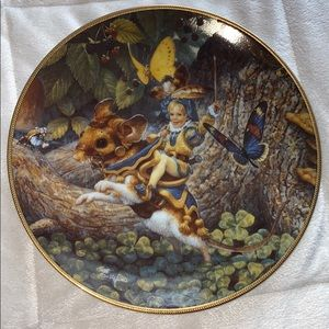 Other - Scott Gustafson vintage collector's plate